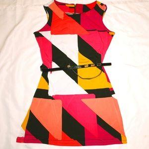 Stretch Colorblock Dress by Worthington Size XL